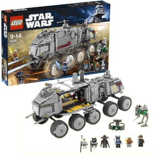 LEGO Star Wars Clone Turbo Tank Style # 8098 (Lego Star Wars Clone Turbo Tank Set 8098)