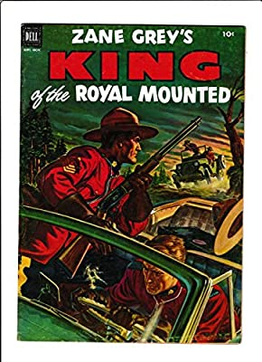 King Of The Royal Mounted #9 [1952 Vg-] Jeep Cover