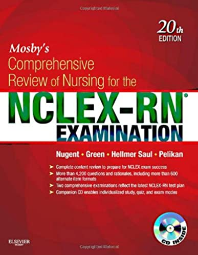 mosby s comprehensive review of nursing for the nclex rn examination rh amazon com Mosby's Dictionary Mosby's Physical Examination