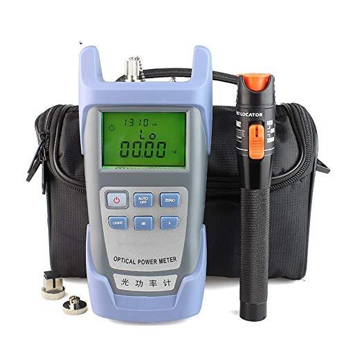Optical Power Meter, 2 in 1 50 Strips PH Cl Test Paper Alkaline Acid Indicator Chlorine Meter For Water Urine Saliva Litmus Testing Measuring (Litmus Paper Chlorine)