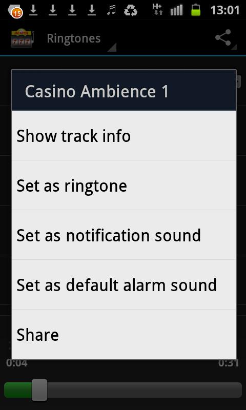 Casino sounds free ringtones casino map michigan