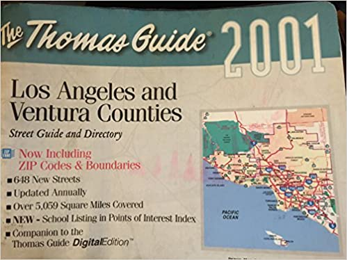 Thomas Brothers Maps Thomas Guide Los Angeles / Ventura Counties: Street Guide