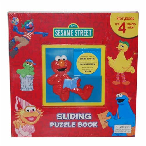 (Sesame Street Sliding Puzzle Book (Storybook))