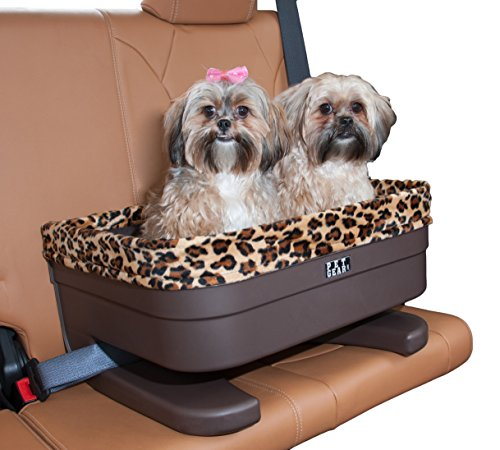 (Pet Gear Booster Seat for Dogs/Cats, Removable Washable Comfort Pillow + Liner, Safety Tethers Included, Installs in Seconds, No Tools Required)
