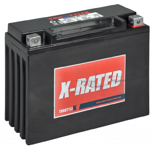 ThrottleX Batteries - ADX24HL-BS - AGM Replacement Power Sport Battery