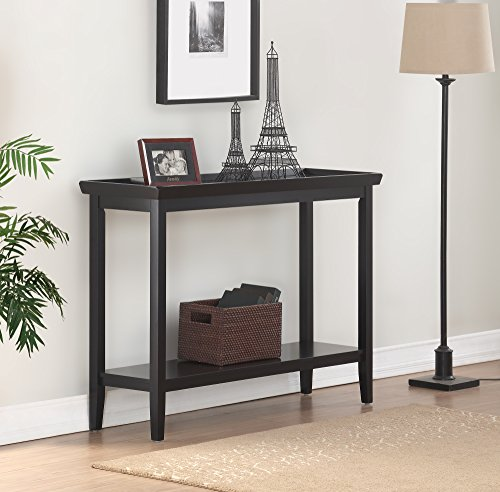 Table Console Black (Convenience Concepts 501099BL Console Table, Black)