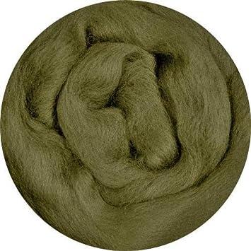 23mic 50g1,76oz Merino wool roving Needle felting wool
