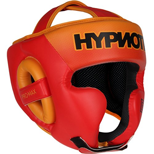 Hypnotik ProMAX Head Guard - Orange Fluorescent - Large