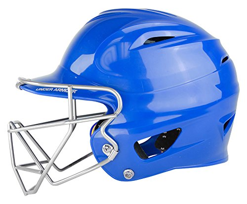 Under Armour Baseball UABH100-FGS2: NA Classic Solid Batting Helmet with Softball Faceguard – DiZiSports Store