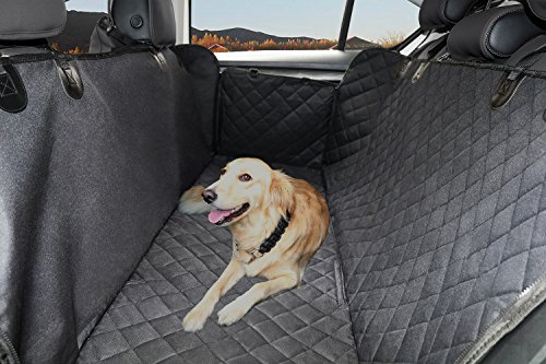 Dog Seat Cover Waterproof Pets Car Seat Covers Hammock Scratch Proof Nonslip Durable Back Seat Covers for Cars Trucks and SUVs