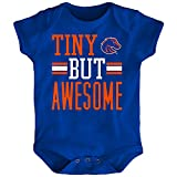 Outerstuff NCAA Boise State Broncos Newborn & Infant Tiny But Awesome Bodysuit, Royal, 6-9 Months