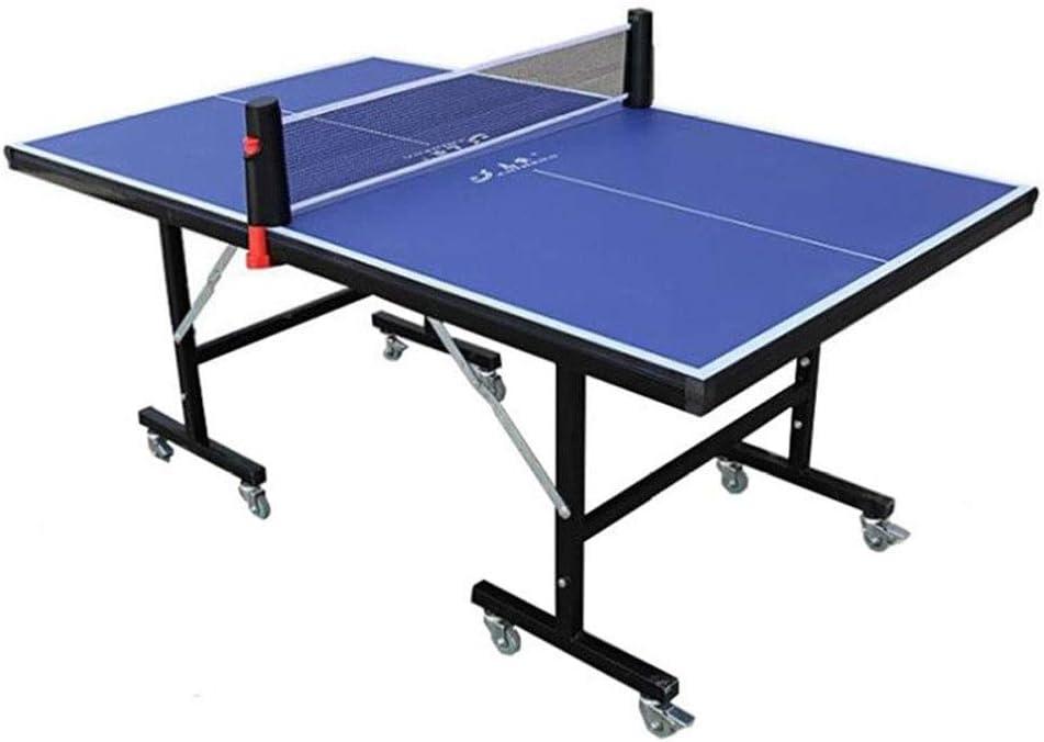 Stoge 2020 Mesa De Tenis De Mesa para Exteriores, con Pelota De Ping Pong Y Paletas Montaje Rápido, Mesa Plegable De Ping Pong para Todo Clima