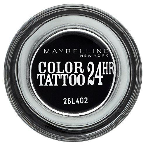 Gemey Maybelline Eye Studio Colour Tattoo 24 H Eye Shadow 60 Timeless Black by Maybelline by Maybelline New York