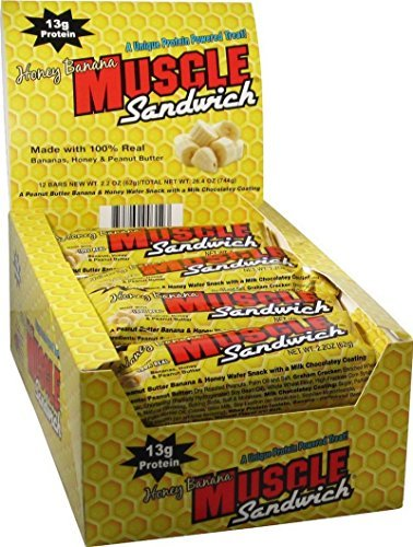 Muscle Sandwich – Honey Banana – 12 Bars