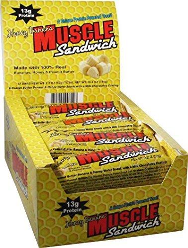 Muscle Sandwich – Honey Banana – 12 Bars