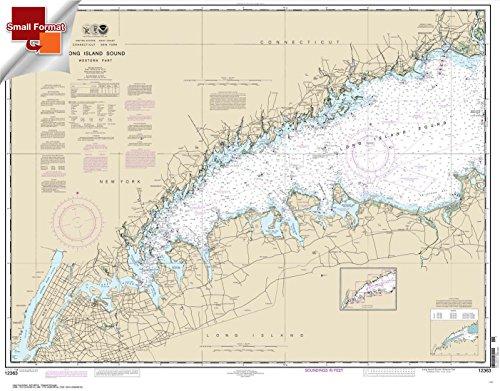 UPC 612524310376, NOAA Chart 12363: Long Island Sound Western Part 21.00 x 26.88 (SMALL FORMAT WATERPROOF)