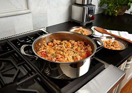 Wolf Gourmet 10 Piece Cookware Set