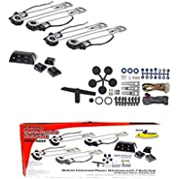 Universal 4 Door Electric Car Truck Power Window Conversion Kit Roll Up Switches