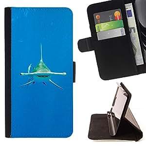 Momo Phone Case / Flip Funda de Cuero Case Cover - Ocean Tropical eau de mer - Huawei Ascend P8 Lite (Not for Normal P8)