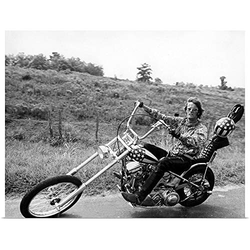 GREATBIGCANVAS Poster Print Entitled Easy Rider, 1969 by 24