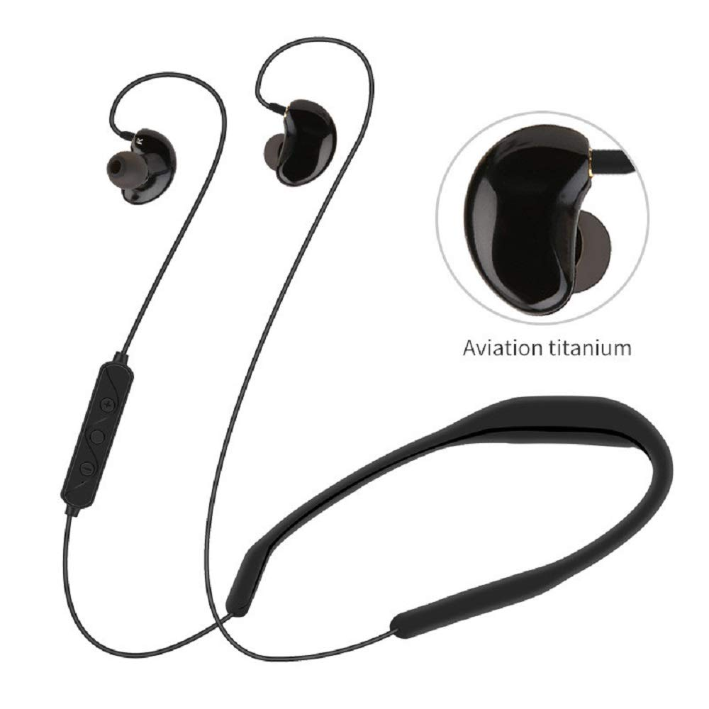 Bluetooth Auriculares Estereo Impermeable, Miss Fortan 4.2 ...