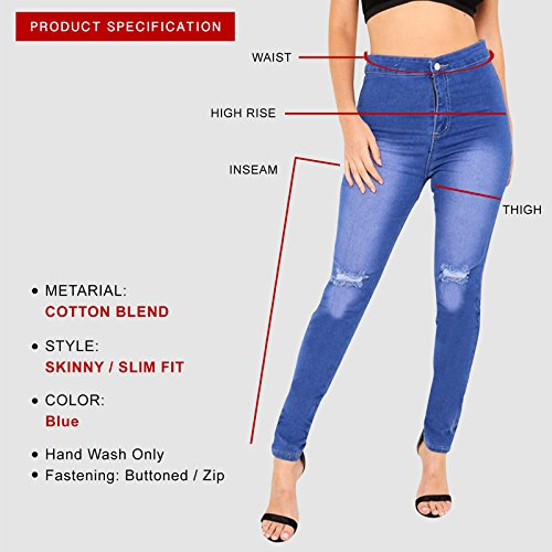 Bright Skinny Donna Xelay Jeans Blue 4q5aHnwtv