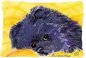Pomerania decorativo tela almohada