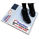 System, Stop Slipping,, With Shoe Scuff. Patented Design.
