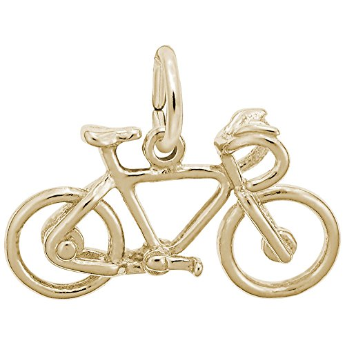 Rembrandt Charms, Bicycle, 14k Yellow Gold