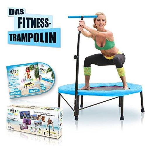 Miami Life Fitness Evolution - Fitness Trampolin + Basic DVD aus der 7 DVD Sonder-Edition