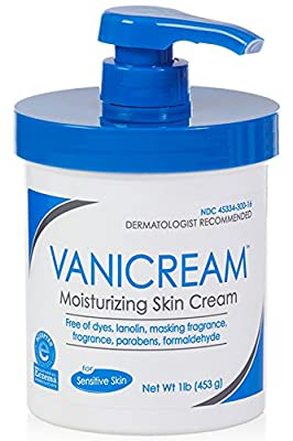 Vanicream Moisturizing Cream 1 LB Pump Jar