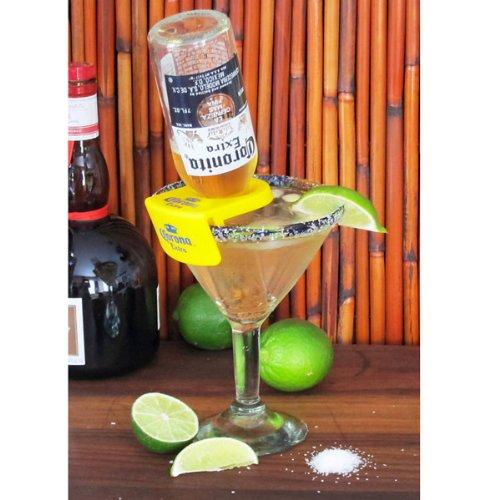 CoronaRita Drink Clips Margarita Glasses