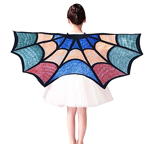 Creazy Kids Child DIY Bat Cape Wings Creative Angel Wings Dress up Costume