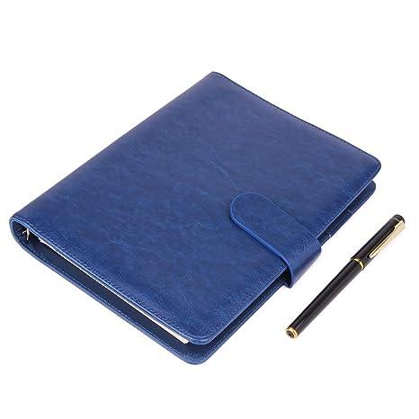 Amazon.com: Cuaderno de piel A5 – Recargable de hojas ...