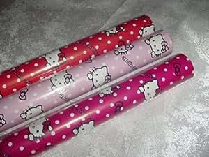 Hoomark BV - Papel de regalo con diseño de Hello Kitty