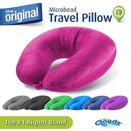 Cloudz Microbead Travel Neck Pillow product image