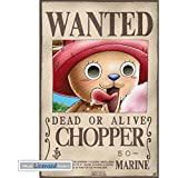 Posters: One Piece Mini Poster - Wanted Chopper (52 x 35 cm)