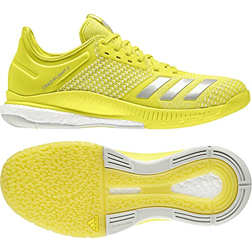 Femme Argentã X Jaune Adidas Chaussures gris 2 blanc De Crazyflight Volleyball Flash YxxaRUn