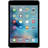 Apple iPad mini 4, 128GB SSD, 2GB RAM, 7.9 inches Retina Display, Dual-Core A8 Chip, Quad Core Graphics, Wifi, MIMO, Bluetooth, 8 MP iSight Camera, 1080p HD Video Recording, Space Gray