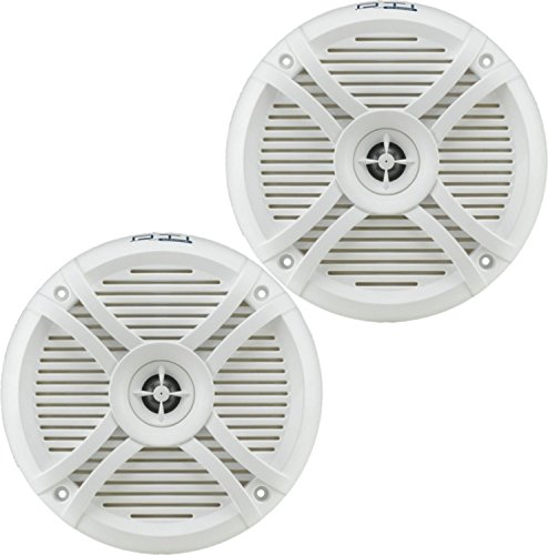 - DTI DS77MR 7.7-Inch 240 Watts Max Power 2-Way Marine Boat Water Resistant High Power Audio Stereo Coaxial Speaker System (White)