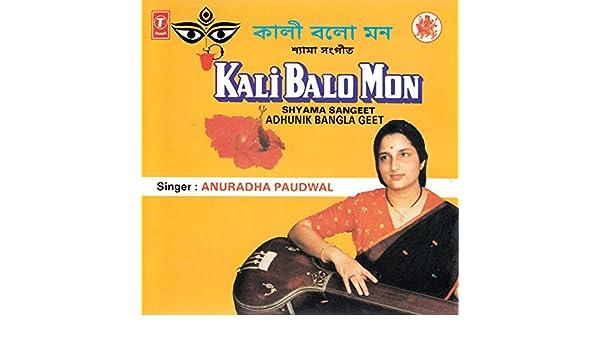 Ramanujdas Gupta, Anuradha Paudwal - Kali Balo Mon : Shyama