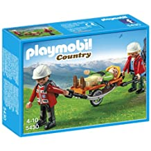 Playmobil Mountain Rescuers with Stretcher