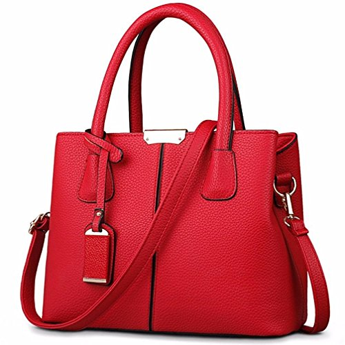 Rufous Hombro Bolso para Mujer al BMKWSG Rojo wqSU0nB