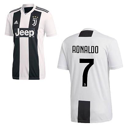 Adidas Camiseta Juventus de Turín temporada 2018-2019, primera equipación, con el nombre