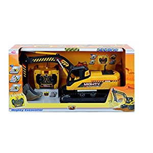 Dickie Toys 1:14 Remote Control Mighty Excavator Vehicle