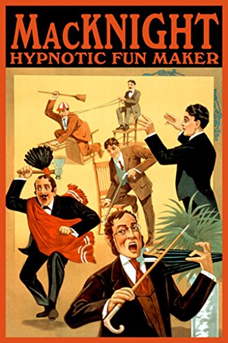 (ArtParisienne MacKnight Hypnotic Fun Maker Donaldson Litho. Co 24x36-inch Paper Giclée Print)