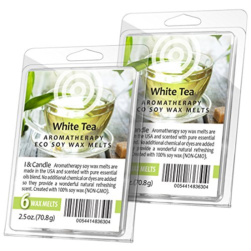 I & Candle  Aromatherapy Wax Melts. 100% Soy Wax  - 2 Pack