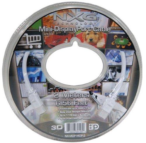 NX-MDP-MDP-2 DisplayPort Audio/Video - Video Cable Nxg Audio