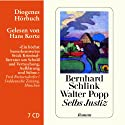 Selbs Justiz Audiobook by Bernhard Schlink, Walter Popp Narrated by Hans Korte