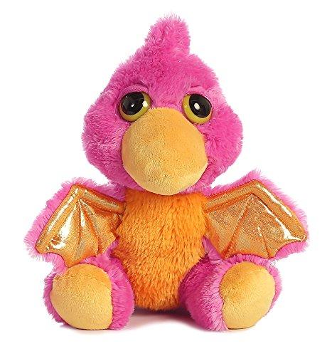 Aurora 21286 World Dreamy Eyes Plush, Mystery Dragon, Pink
